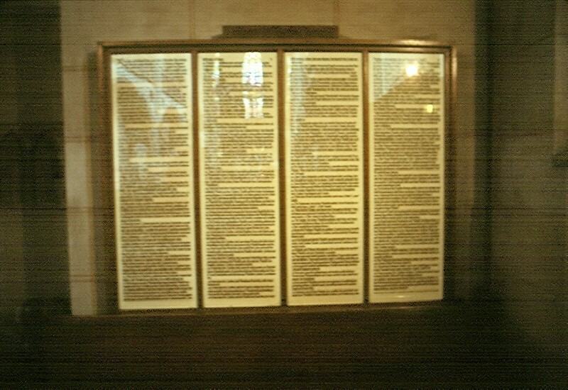 912u_Luther's_95_Theses,_Schlosskirche,_Wittenberg,_GER,_